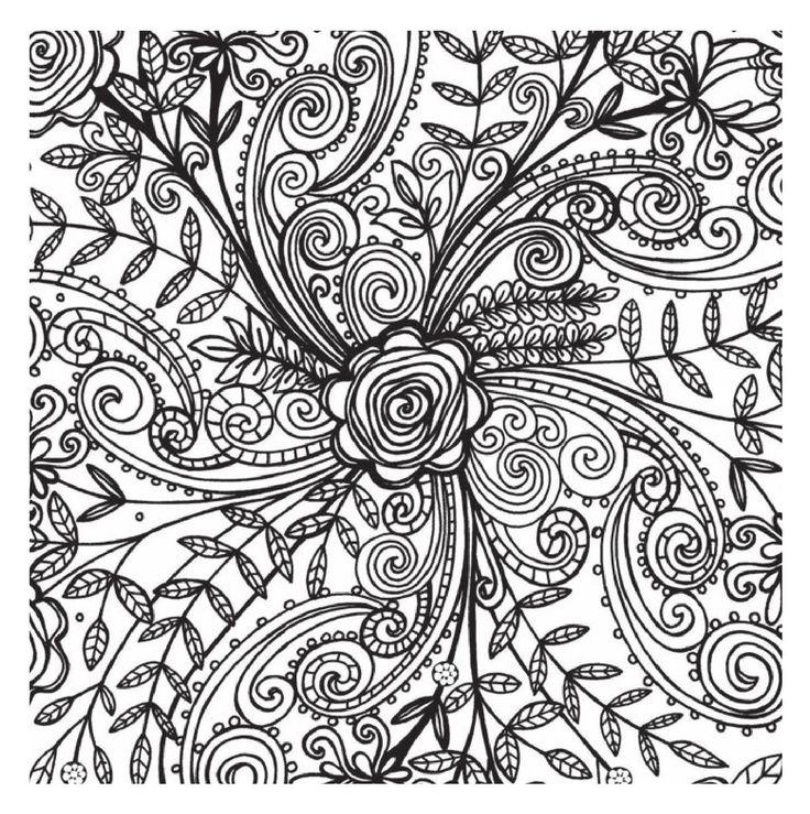 Encantador Crecido Para Colorear Paisley Embellecimiento - Páginas ...