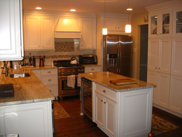 Reno of a small kitchen 12x12 1960s townhouse kitchen closed off from other rooms and with - Closed kitchen design ...