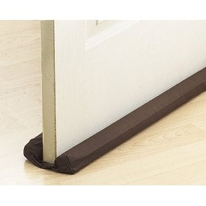 The Thermwell Products Frost King /4 in. x 36 in. Brown Double Draft Stop for Doors or Windows is an effective way to block drafts, dust and insects from coming under your door. It also saves energy and cuts utility costs. It installs easily by sliding it under the door, without holes to drill or /5().