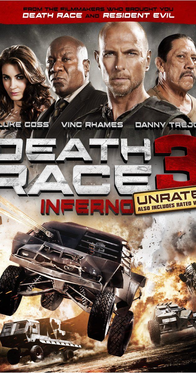 Death Race 3: Inferno (2012) Poster