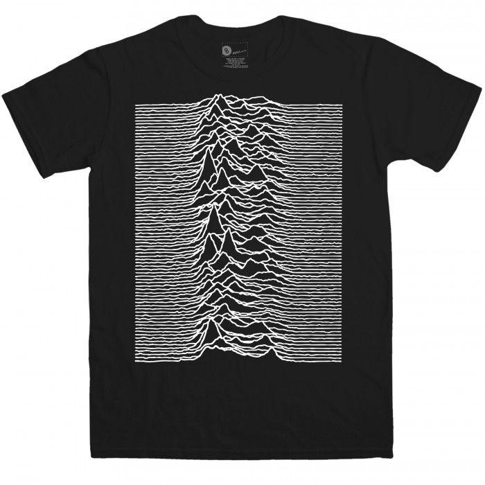 Indie Men's T Shirt - Pulsar CP 1919 Big Print - Black - Small