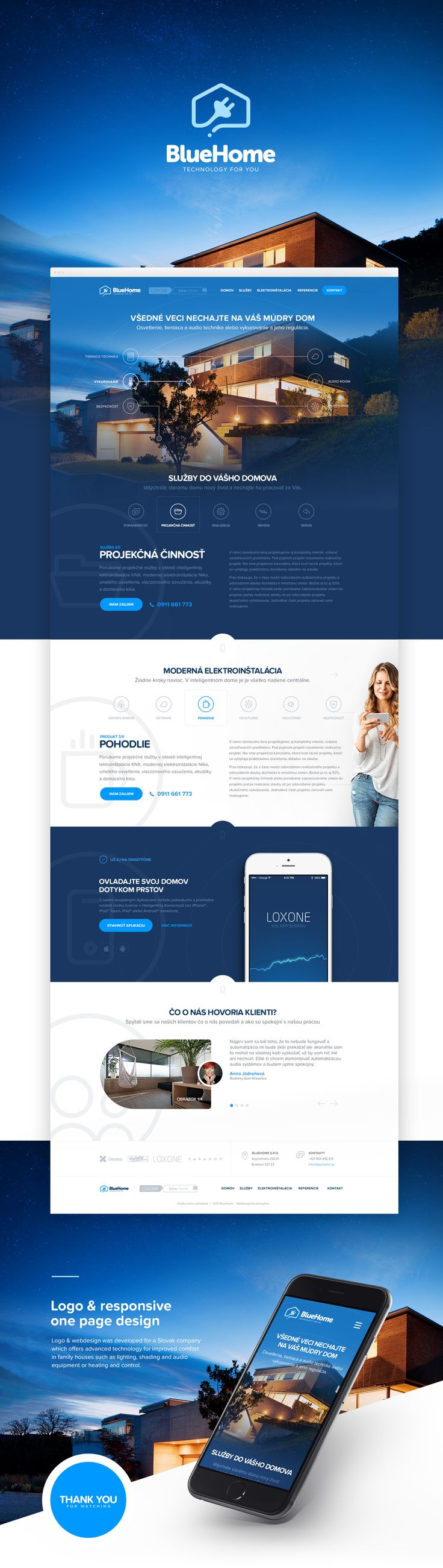 BlueHome on Behance