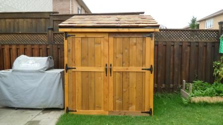 Cedar Shed | Do It Yourself Home Projects from Ana White