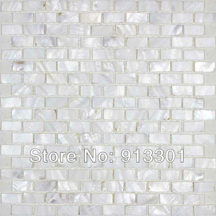free shipping shell mosaic tile sheets natural seashell
