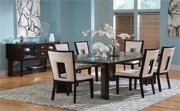 Turin 7PC Dining Room Set at Famsa.us | Easy Credit | Famsa | Catálogo en Línea de Electrónicos, Muebles, Computadoras, Minisplits, Línea Blanca y Más