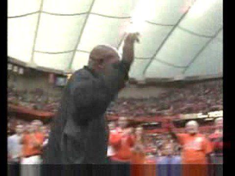 Ernie Davis retierment cermerony - YouTube