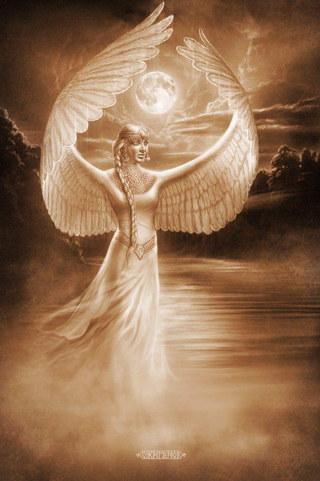 Slavic mythology by Igor Ozhiganov. The Slavic world series. Swan Princess
