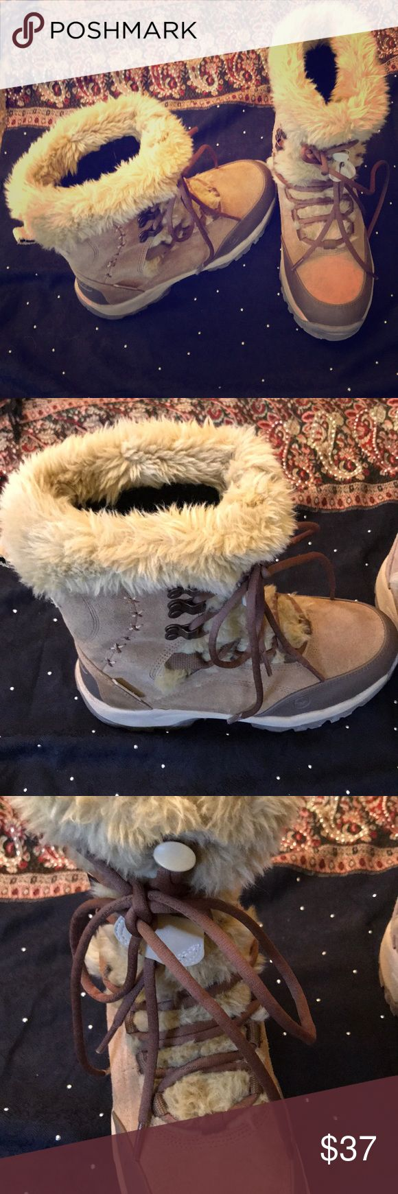 Women's Winter Boots Women's Hi-Tec Winter Boots. Insulated and extremely warm. Worn once. Like new. Hi-Tec Shoes Winter & Rain Boots