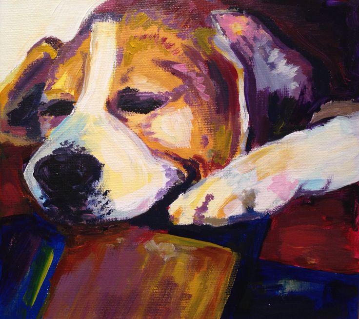 Toby  Acrylic on canvas  2015
