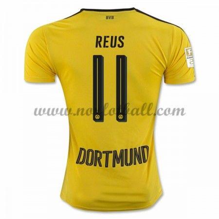Billige Fotballdrakter BVB Borussia Dortmund 2016-17 Reus 11 Hjemme Draktsett Kortermet