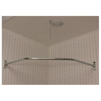 Clawfoot Tub Shower Enclosure Corner Ring 48 Inch NEO Angle Randolph Mor