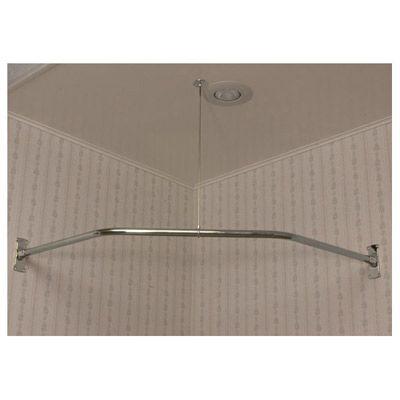 Clawfoot Tub Shower Enclosure Corner Ring 48 Inch NEO Angle Randolph Mor