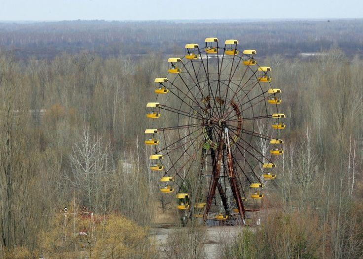 Tchernobyl, hier et aujourd'hui | Slate