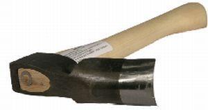 Petite herminette PFEIL Référence  PF008 État :  Nouveau   Herminette forgée en acier à outils de la meilleure qualité, durcie et affûtée.