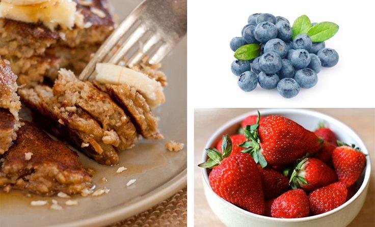 Receita Light da Semana   Panqueca de aveia, amêndoa e linhaça sem glúten, açúcar e lactose   Território Animale
