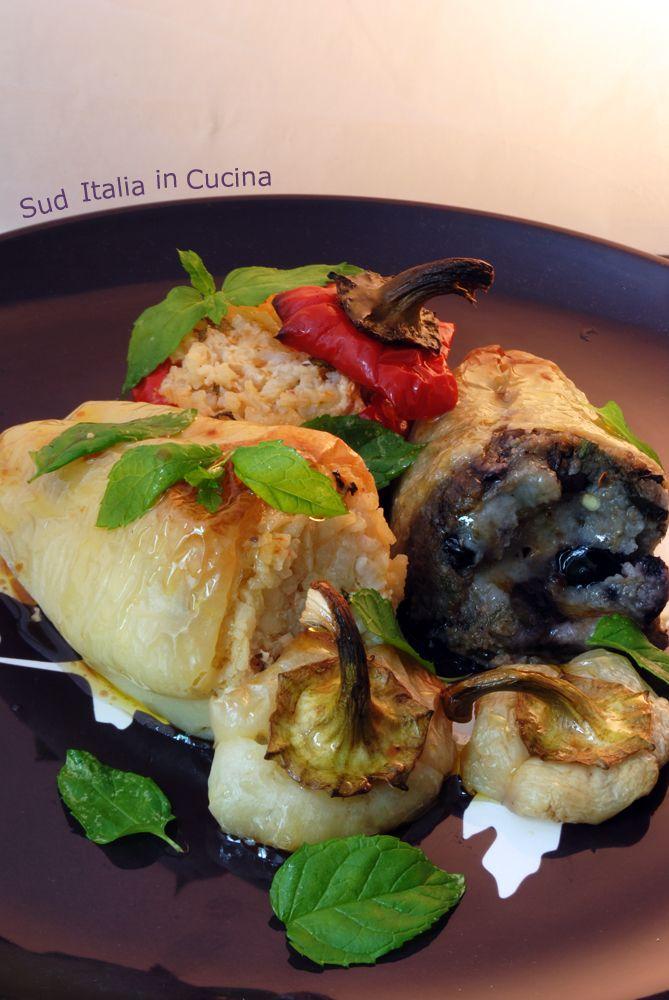 Peperoni ripieni di Riso - http://blog.giallozafferano.it/suditaliaincucina/peperoni-ripieni-di-riso/