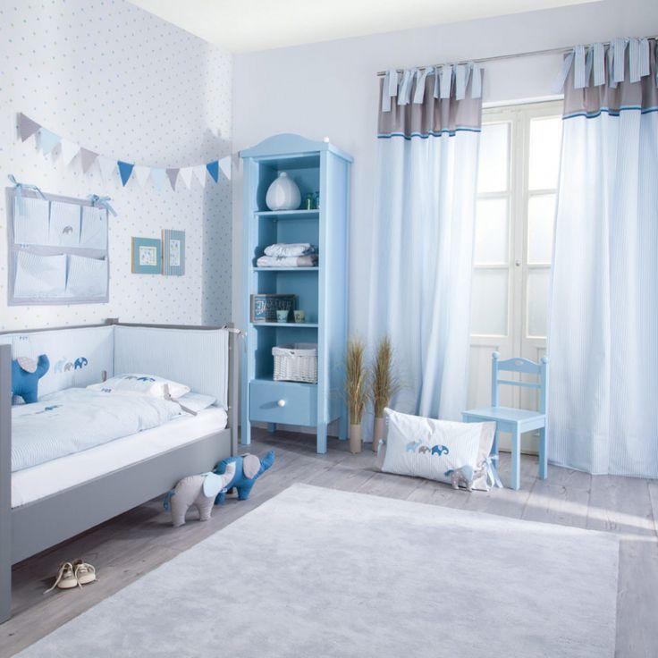 Interessante Atemberaubende Dekoration Vorhang Kinderzimmer Blau