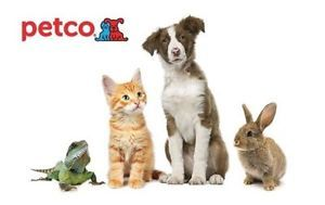 $50 Petco Gift Card for $40!