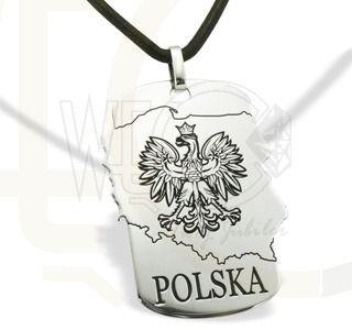 Wisiorek ze srebra POLSKA/ Pendant made from silver POLAND/ 115 PLN #silver #jewellery #gift
