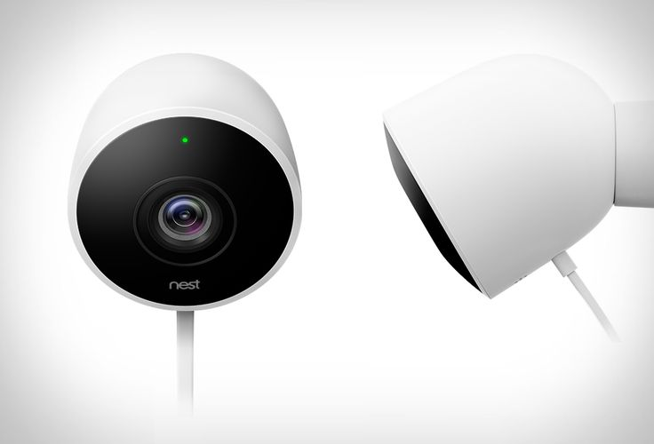 Nest have announced their long-awaited outdoor camera, the Nest Cam Outdoor. With a IP65 rating (weatherproof), this thing is built to resist the elements, and stands watch 24/7, rain or shine. The smart security camera gives you 24/7 live streaming on your smartphone,  with 130° wide-angle view of your home in super clear 1080p HD, day and night. You also get notifications on your phone if someone's at the door, letting you listen in and talk back. And it's easy to install yourself…