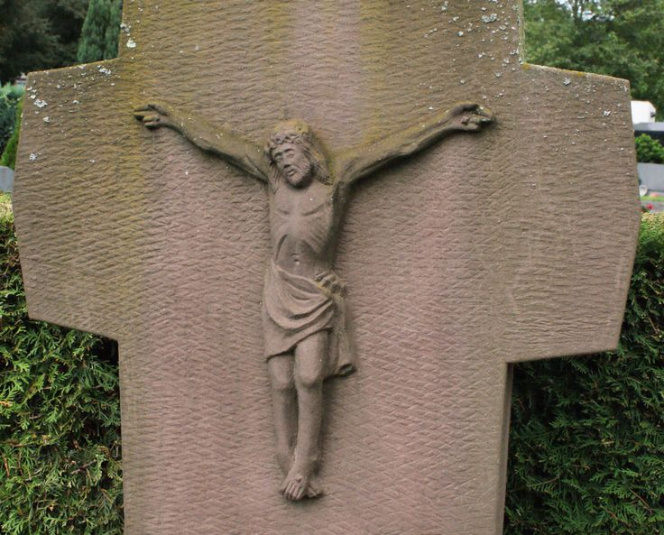 A cross at a cemetary (DL)