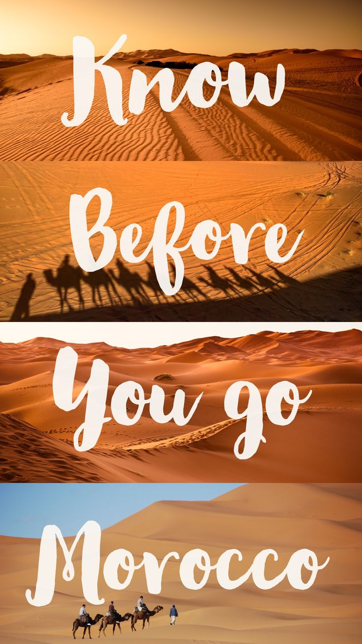 All you need to know before you go to Morocco. These top Morocco travel tips will be sure to help you!