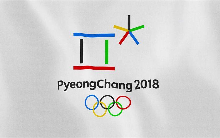 Lataa kuva PyeongChang 2018, Tunnus, logo, Talviolympialaiset, Korean tasavalta
