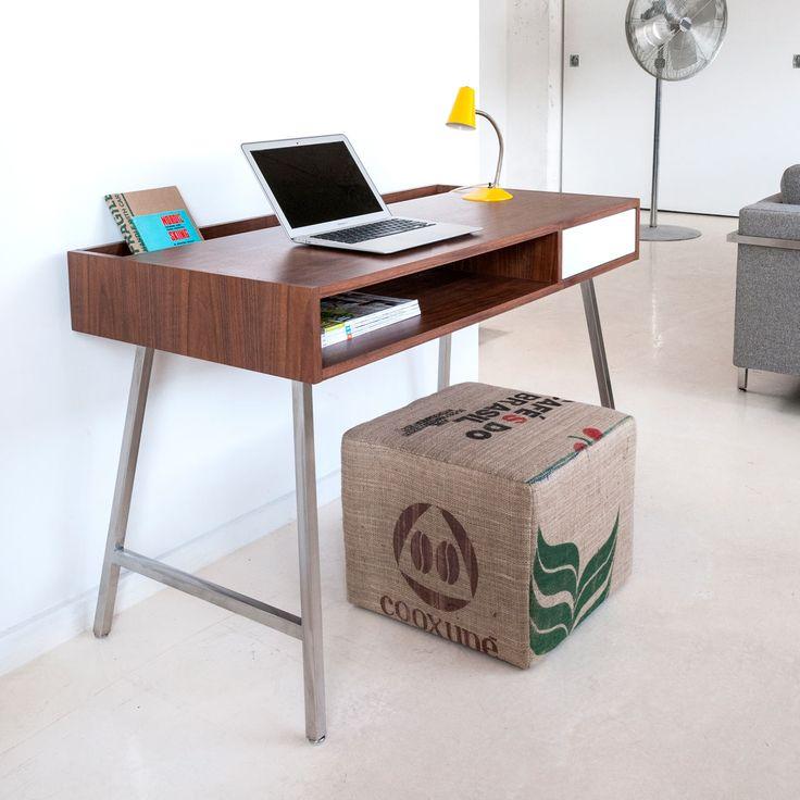 Best Office Desks Images On Pinterest Office Desks Furniture - Contemporary writing desk furniture