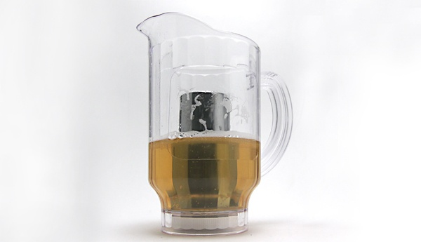 Ice Core Beer Pitcher — Keep Beer Cold For Hours, Without Watering it Down.