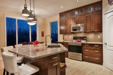 Parkdale House - transitional - kitchen - calgary - Better Home Design Inc