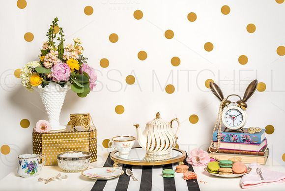 Vintage Teatime Styled Mockup #44 by MMHouseofStyle on @creativemarket