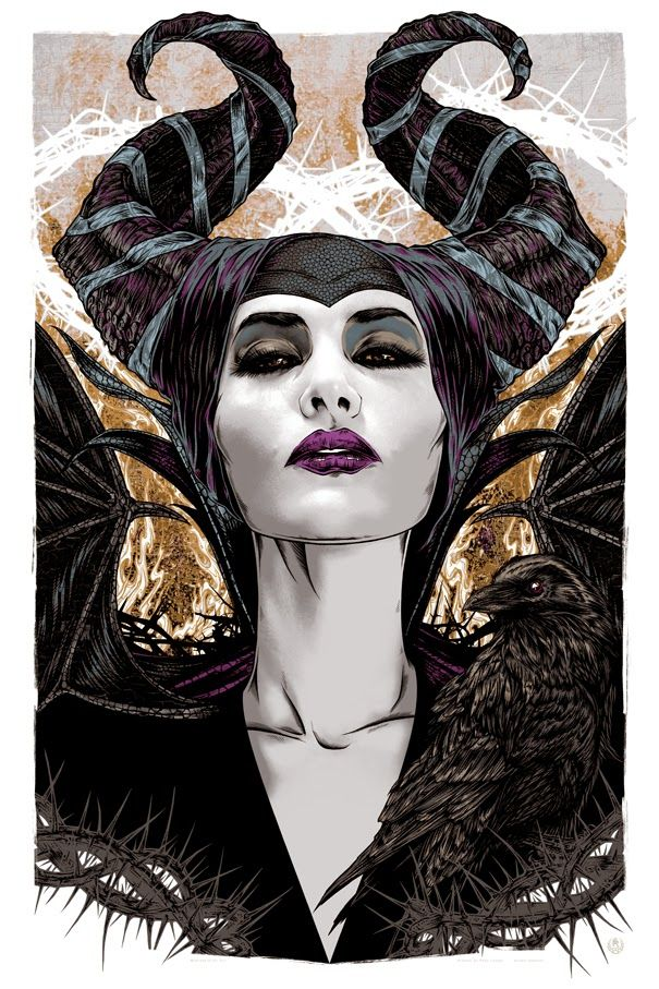 Cool Art: 'Maleficent' by Rhys Cooper