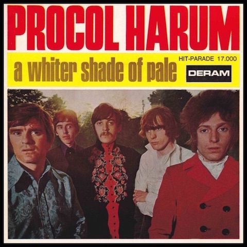 Procol Harum - A whiter shade of pale - VIDEO