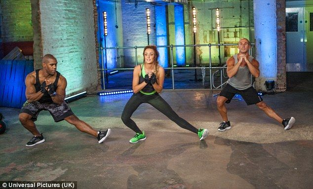 Geordie Shore star Charlotte Crosby unveils Belly Blitz workout DVD #dailymail