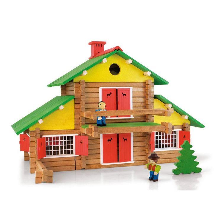 Jeujura Jeu de construction Mon chalet en bois - 240 pièces-product