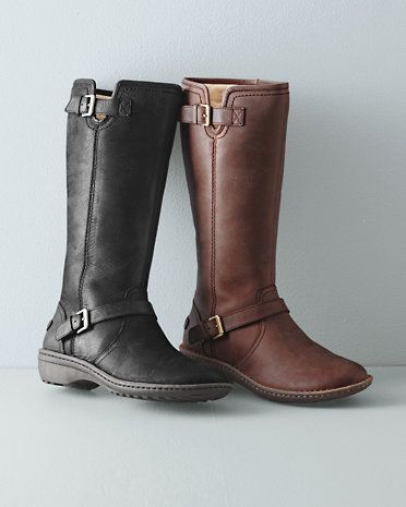 ugg style leather boots