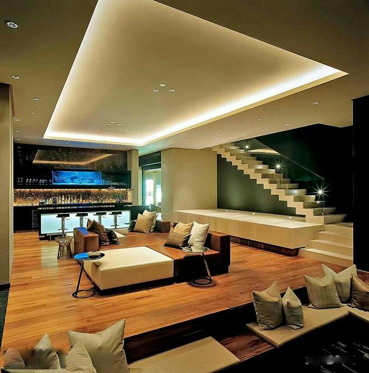 21 besten Indirekte Beleuchtung Bilder auf Pinterest Indirekte - licht ideen wohnzimmer