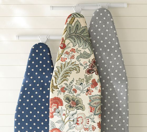 Like the polka dot covers. PB Ironing Board Covers | Pottery Barn