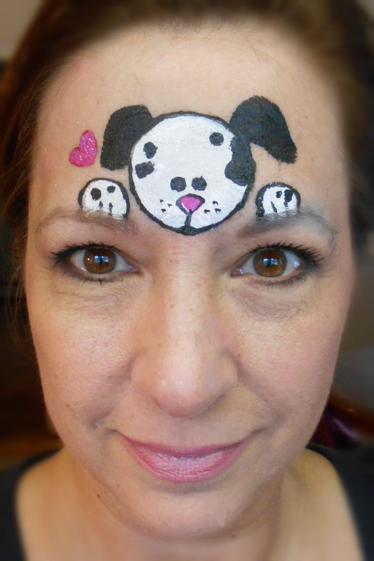 Uncategorized Face Painting Easy best 25 puppy face paint ideas on pinterest dog paints blackwhite smiley faces by jo