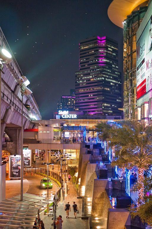 Siam Shopping Center in Bangkok, Thailand