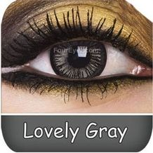 Lovely Grey Big Eye Contact Lenses
