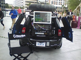Broadcast from the boot of your car with Newtek Tricaster #Hyperlocal