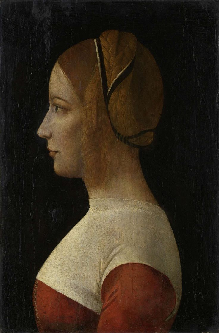Portrait of a young Woman   1480 - 1499   Rijksmuseum   Public Domain Marked