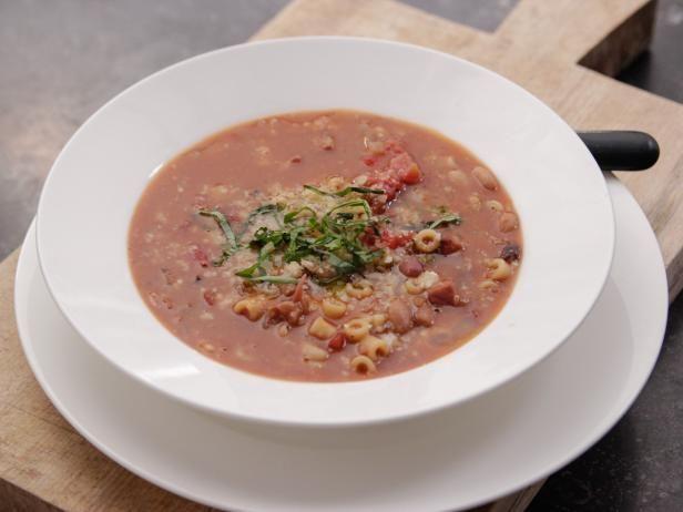"""16 Bean"" Pasta e Fagioli Recipe | Ina Garten | Food Network"