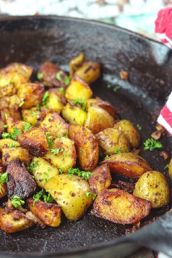 Crispy Fried Potatoes Recipe Vegetable Side Dishes Potatoes