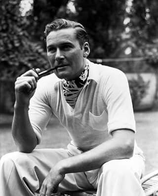 """""""The public has always expected me to be a playboy, and a decent chap never lets his public down."""" - Errol Flynn"""
