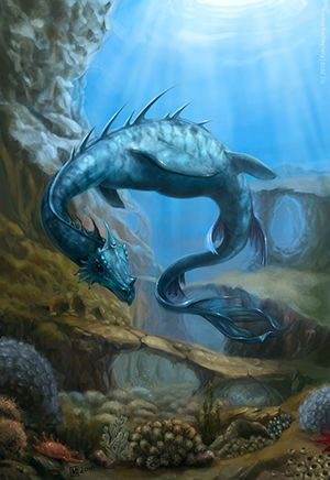 Loch Ness Monster - Mythical Archive