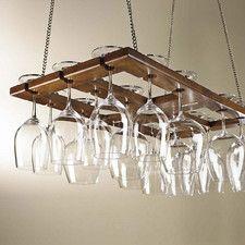 Hanging Wine Glass Rack I