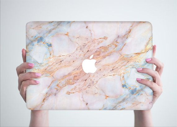 Stone Marble Macbook Pro 13 Hard Case Pro by RealDesignRocks  MacBook Pro 13'in w Retina display