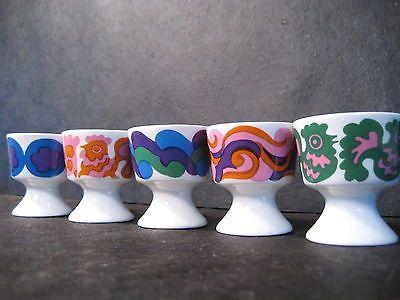 Arabia Finland Egg Cups Chalice Vase Original Box Gunvor Gronquist Danish Modern | eBay, via Zuburbia